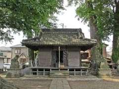 八枝神社社殿