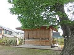 八枝神社神楽殿