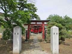 下平塚稲荷神社鳥居