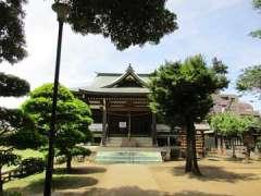 瓦葺氷川神社