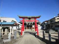 浅間台氷川神社鳥居