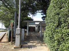 須ヶ谷第六天神社鳥居