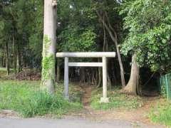 戸崎大鷲神社鳥居