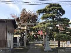 浜崎氷川神社鳥居