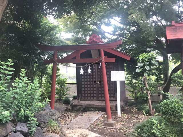 境内社熊野神社・稲荷神社・琴平神社