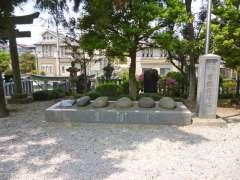 宮戸神社力石