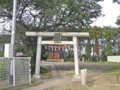 田島神明神社鳥居