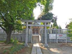 内間木神社鳥居