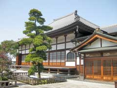 桃林寺本堂