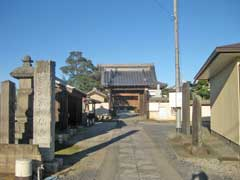 神仙寺山門