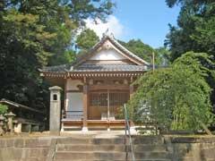 満願寺境内歓喜天社拝殿