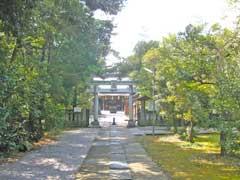忍諏訪神社鳥居