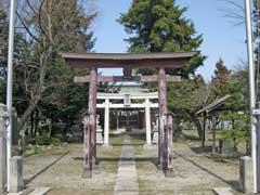 小敷田春日神社鳥居