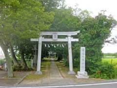 菅谷八幡神社鳥居