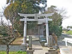 持田諏訪神社鳥居