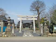 持田剱神社鳥居