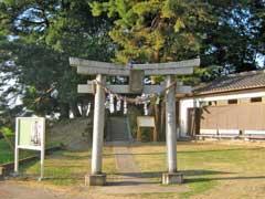 白山姫神社鳥居