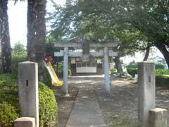 野久伊豆神社鳥居