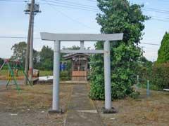 斎条諏訪神社鳥居
