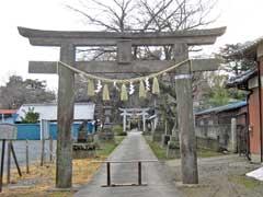 前玉神社鳥居