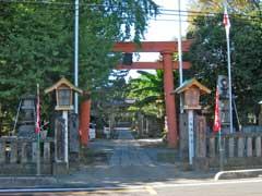長野久伊豆神社鳥居