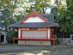 長野久伊豆神社神楽殿