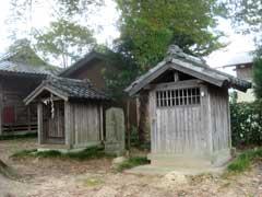 境内社稲荷社・庚申・姫宮