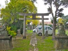 治子神社鳥居