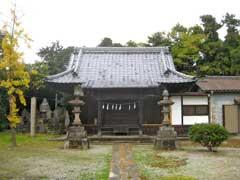 治子神社拝殿