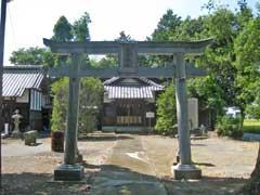 下忍神社拝殿