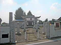 須戸橋御嶽神社鳥居