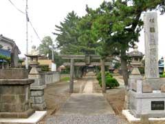 須加熊野神社鳥居