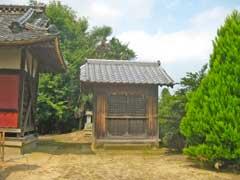 雷電社旧社殿