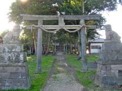 勝呂神社一鳥居