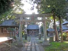 勝呂神社二鳥居