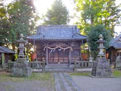 勝呂神社拝殿