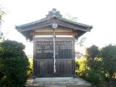 若小玉諏訪神社社殿