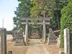 渡柳常世岐姫神社一鳥居