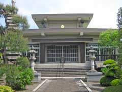 秀常寺本堂