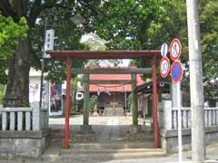 双柳稲荷神社鳥居