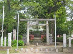 八幡神社鳥居