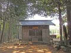 畑神社拝殿