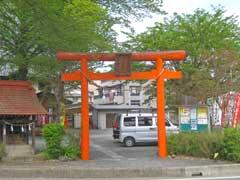久下稲荷神社鳥居