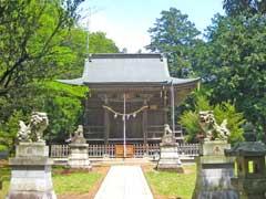 加治神社拝殿