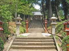 加治神社石燈籠