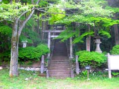 三吉稲荷神社鳥居