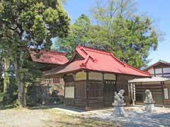 征矢神社拝殿