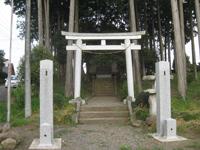 稲野辺神社鳥居