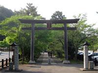 高麗神社鳥居