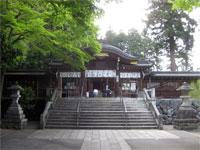 高麗神社拝殿